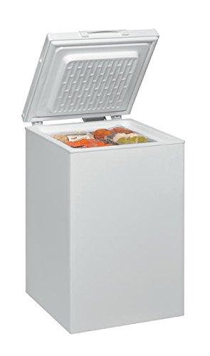 Ignis CE1050 Independiente Baúl 100L A+ Blanco - Congelador (Baúl, 100 L, 9 kg/24h, SN-T, A+, Blanco