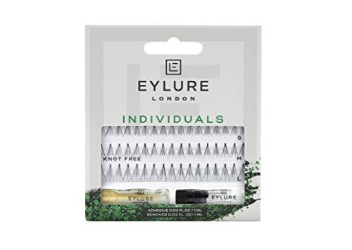 Eylure Individual Lashes - Short, Medium & Long (Knot Free - Black)