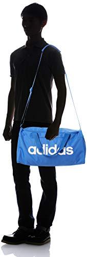 adidas Linear Core Small Duffel Bag - True Blue/True Blue/White, One Size