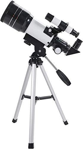 IF.HLMF Telescopio astronómico Profesional para astronomía Soporte Alto Telescopios Profesionales de observación de Estrellas de Gran Aumento y Alta definición