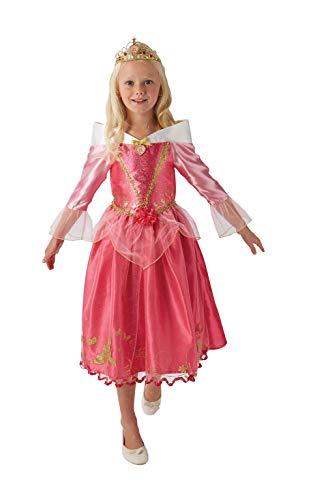 Generique - Disfraz de princesa Aurora para nia, color rosa, talla 104/116 (5-6 aos)