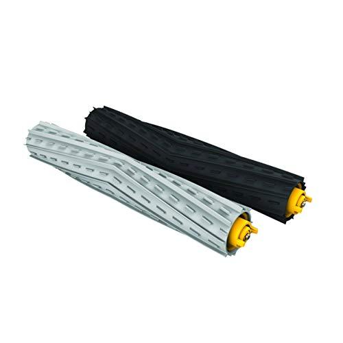 MIRTUX Kit de Rodillos extractores compatibles con Roomba 800 y 900. Pack de Cepillo Central de Goma. Repuestos recambios de...