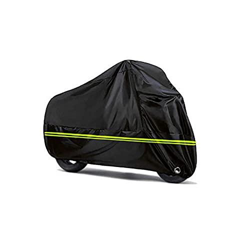Cubierta De La Motocicleta UV Protectora De La Nieve Cubierta De Lluvia Impermeable Impermeable A Prueba De Polvo Universal para Moto Scooter Bicicleta Interior Al Aire Libre-3Xl