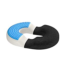 Relieve bum muscle pain and relieve buttock pain through this seated cushion for conditions like piriformis syndrome