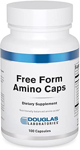 DOUGLAS LABORATORIES - Free Form Amino Capsules - Balanced Mixture of Amino Acids to Support Overall Health - 100 Capsules