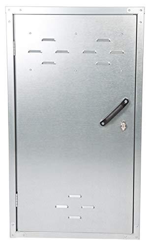 Pfiff 001193 Sattelschrank, Sattel Spind Sattelspind Metallspind Metallschrank