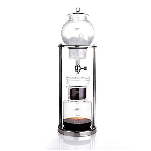 Manual Coffee Grinder -pour en el café de filtro grupo de máquinas/cafetera conjunto máquina de hielo cafetera 600/1000 ml (Tamaño: 1000 ml) Haike (Tamaño: 600 ml) WTZ012 (Size : 1000ml)