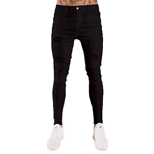 Pantalones Ajustados Blancos para Hombre
