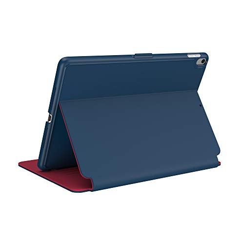 Speck Products StyleFolio iPad 9.7 Inch Case and Stand (2018), Deep Sea Blue/Fiery Red