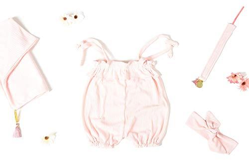 Coffret naissance fille 4 pièces rose CHAMALLOW (6-12 mois)