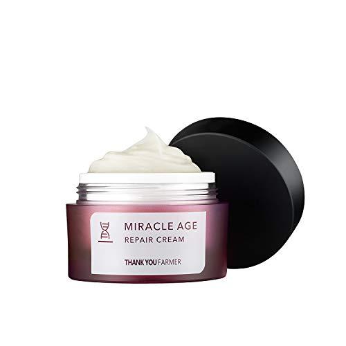 THANKYOU FARMER Miracle Age Repair Cream | Brightening, Anti-Wrinkle | 1.75 Fl Oz (50ml)