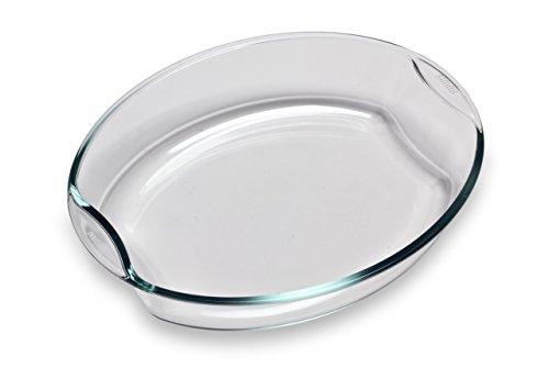 Bohemia Cristal 093 006 093 SIMAX Brat-und Backschale oval ca. 2,5 ltr. aus hitzebeständigem Borosilikatglas