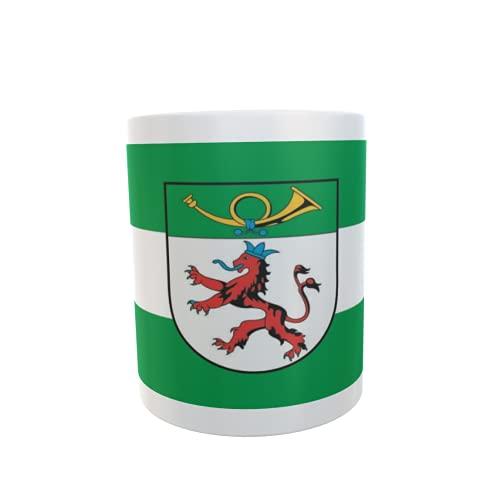 U24 Tasse Kaffeebecher Mug Cup Flagge Langenfeld