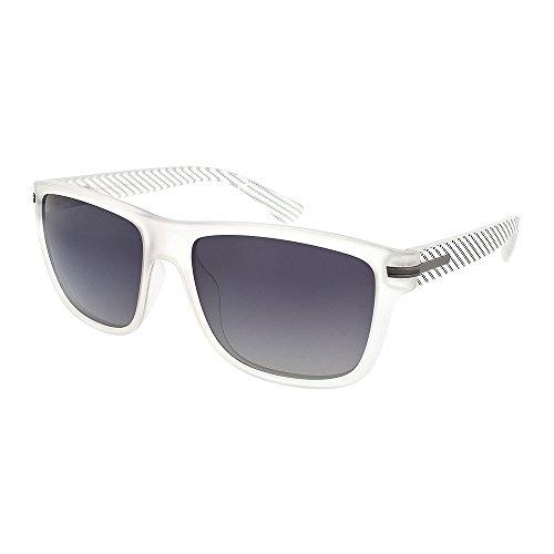H.I.S Polarized Sonnenbrille Plastik HP58134, kristall, graue Gläser, 1 Stück