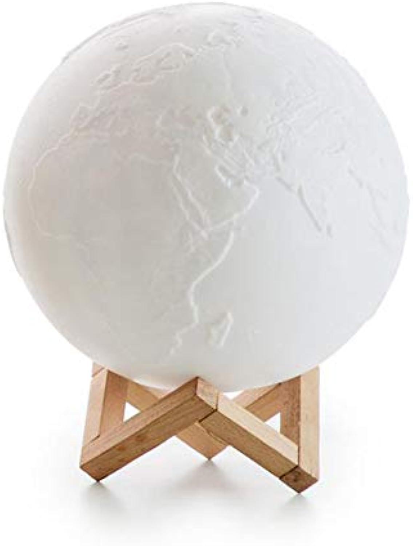 WETRR Nachtlichter Geschenk Lampe, DisFarbeation Erde Licht für Kinder und ltere, Dekorate Room Kindergarten, Fütterungsbaby, Babyzimmer,7Farbes,12cm