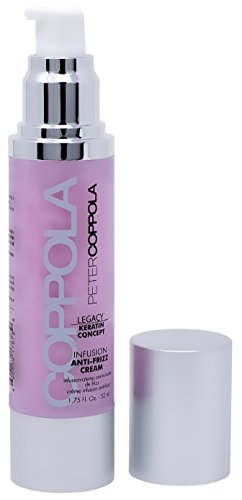 Peter Coppola Infusion Anti Frizz Cream - Leave In Cream for Frizzy Hair - Styling Cream for Smooth Hair - 1.7 Oz