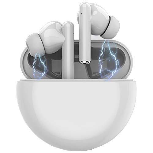 Auriculares Bluetooth,Auriculares Inalámbricos Bluetooth táctiles, Auriculares estéreo Bluetooth IPX7 a Prueba de Agua, con Estuche de Carga para Apple Airpods Android iPhone Huawei Samsung