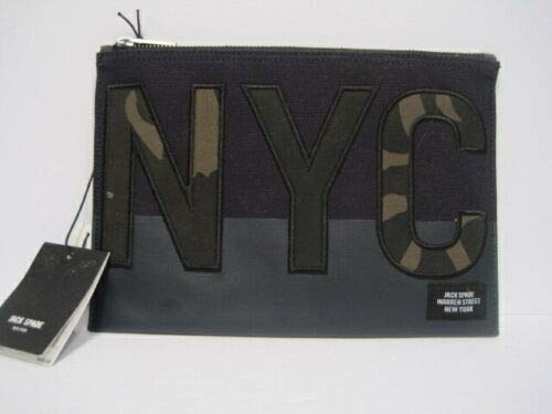 Jack spade Camo Cord Pouch NYC Graphics DK Navy/DK 866