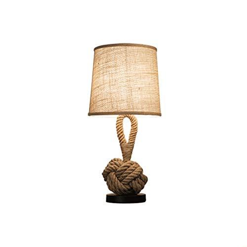 SPNEC Mesa de Noche Lateral y lámpara de Escritorio: Base Elegante Tradicional, Sombra Neutra y Suave, luz Ambiental para la mesita de Noche del Dormitorio, Sala de Estar, Oficina;Incl
