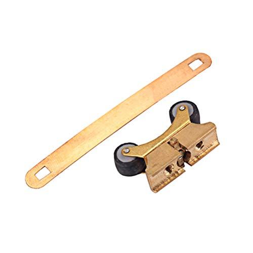 Healifty Kupfer Erhu Clip Feinstimmer Saitenversteller Erhu Parts by302 (golden)
