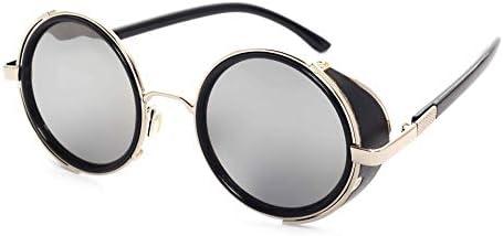UV400 Retro Metal Frame Sunglasses Women Men Sun Glasses Mens Glasses Eyewear Brand Tinize Outdoor UV Polarized Protection Vintage Sport Sunglasses