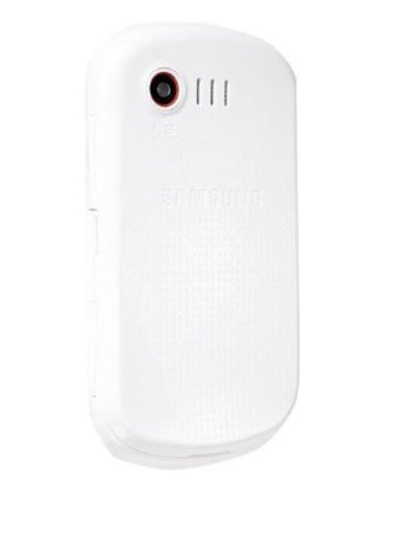 Samsung -Player Light C3510 Quadband-Mobiltelefon Edge, Bluetooth, Weiß