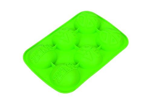 Kaiser Peace Lot de 6 moules en silicone Vert