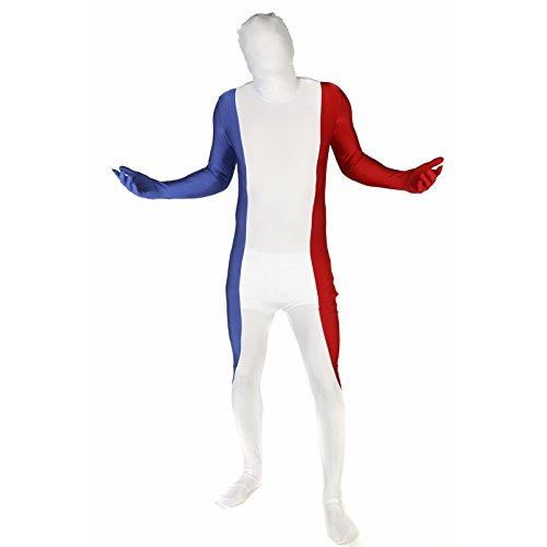 Morphsuits - Disfraz Francia infantil, talla M (MFFRM)