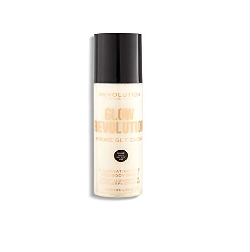 Revolution – Spray per viso e corpo – Glow Revolution – Illuminating Face & Body Spray – Eternal Gold