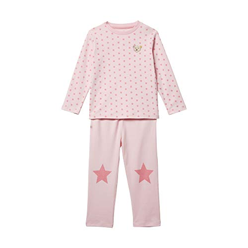 Steiff Mädchen Schlafanzug Schlafanzugoberteil, Rosa (Barely Pink 2560), (Herstellergröße: 110)