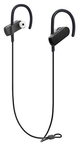 audio-technicaワイヤレスイヤホン防水/スポーツ向けBluetoothリモコンマイク付きグラファイトブラックATH-SPORT50BTBK