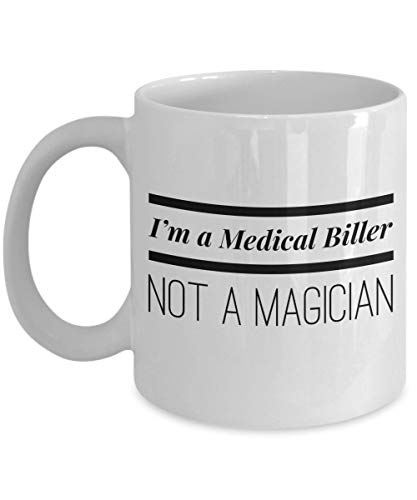 Medische rekenmachine, koffiekopjes in een medische rekenmachine, geen magische grappige medische rekeningen, codeer-, thee-beker-cup, goedkoop cadeau voor medische