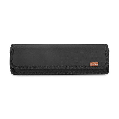 Surface Elektronik Organizer, ProCase draagbaar draagtas, stootvast reis-opbergtas accessoiretas voor Microsoft Surface Go Laptop Pro Book 7 6 5 4 3 2 oplader en kabel -zwart