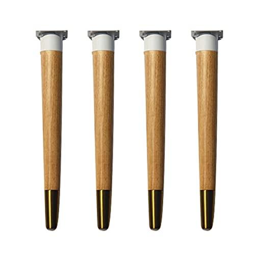 Pies de soporte para gabinetes, patas de equilibrio de la base de muebles de madera, respetuosas con el medio ambiente y saludables, utilizadas para gabinetes, mesas de café, sofás, gabinetes de TV