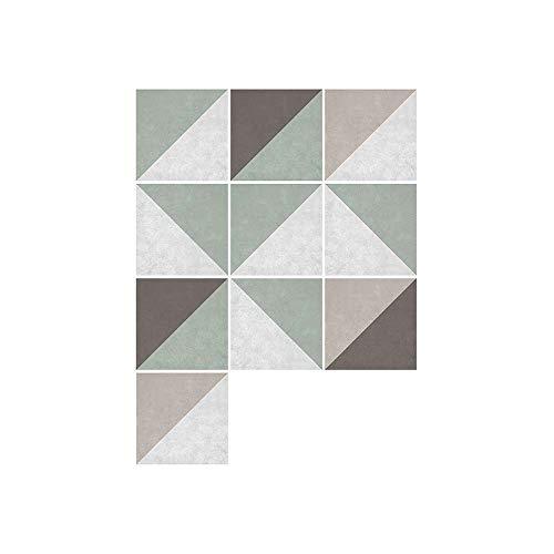 XJF Pegatinas autoadhesivas para azulejos de cocina, 10 unidades, 15 x 15 cm