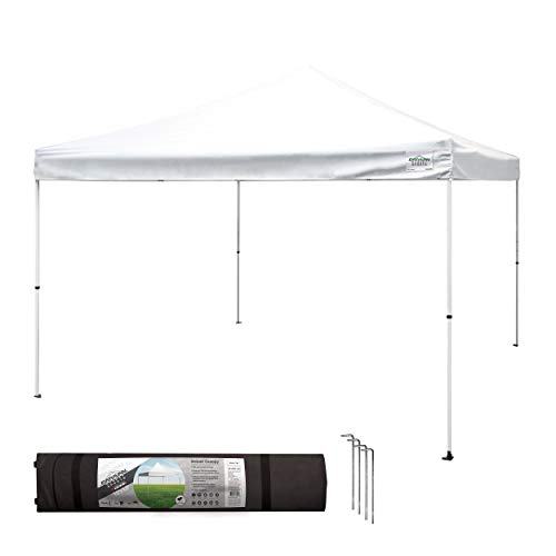 Caravan Canopy Sports 21208100010 Caravan M-Series 2 Pro 12 X 12 Foot Straight Leg Kit, White Canopy, 12x12