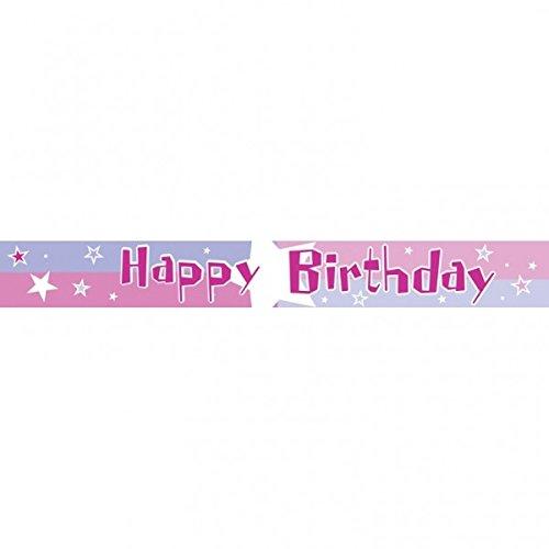 amscan Bannière Happy Birthday