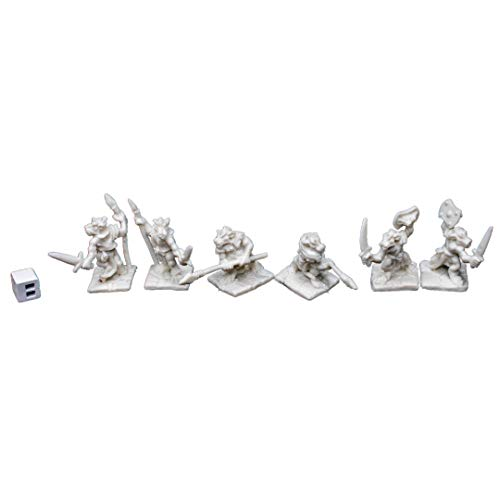 Price comparison product image Reaper 77010: Kobolds (6) Dark Heaven Bones Plastic Miniatures