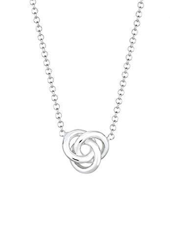 Elli Halskette Damen Knoten in 925 Sterling Silber
