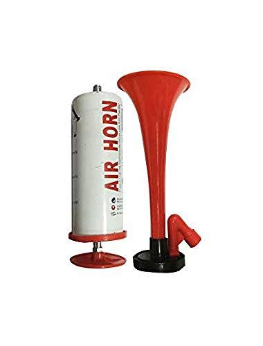 Simply PAH01 Bocina de Aire Manual, Rojo y Blanco