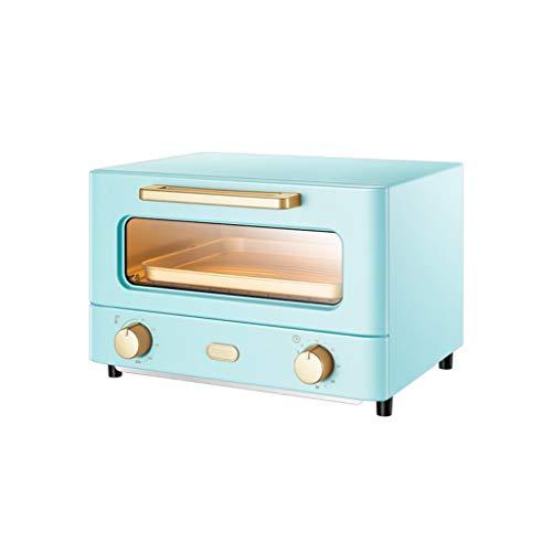 YYF Four électrique Four Petit Ménage automatique de cuisson multi-fonction à grande capacité de bureau gâteau du four mode (Color : Blue)