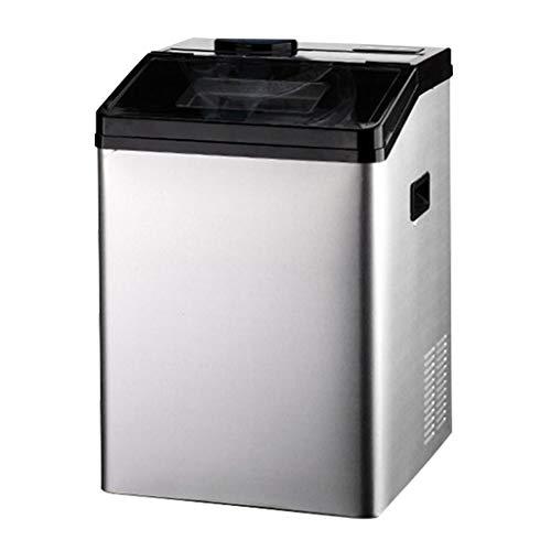 FEINI Kommerzielle Eismaschine, Industrielle Eismaschine, Eismaschine, EiswüRfelmaschine, Eismaschine, 55 Kg / 24 H, Automatische Reinigungsfunktion.