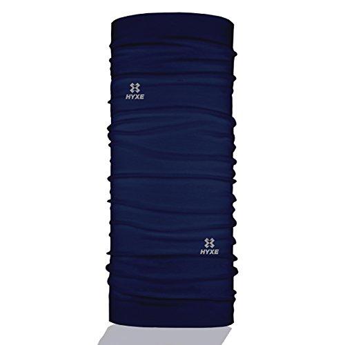 HYXE Original Multifunktionstuch - nahtloses Halstuch, Schlauchtuch, Schal, Kopftuch, Stirnband, Unisex, Erklärungsvideos für 10 Tragevarianten