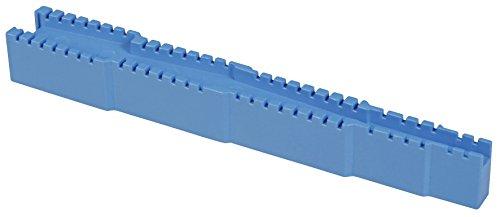 KEMO Abbiegevorrichtung Biegelehre Widerstände Led Bauteile Biegen Kondensator biegen knicken THT Dioden Bauelemente in 5 Rastergrößen nutzbar: 7,5 mm, 10,0 mm 12,5 mm, 15,0 mm und 17,5 mm