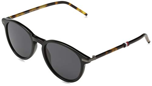 Tommy Hilfiger TH 1673/S Gafas de Sol, BLK HAVAN, 50 para Hombre
