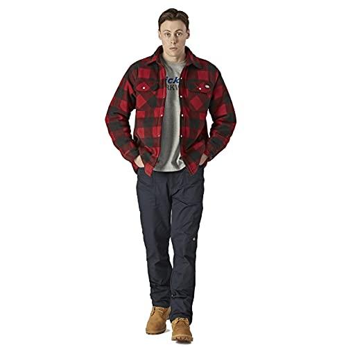 Dickies Shirt Portland Hemd Rot-M