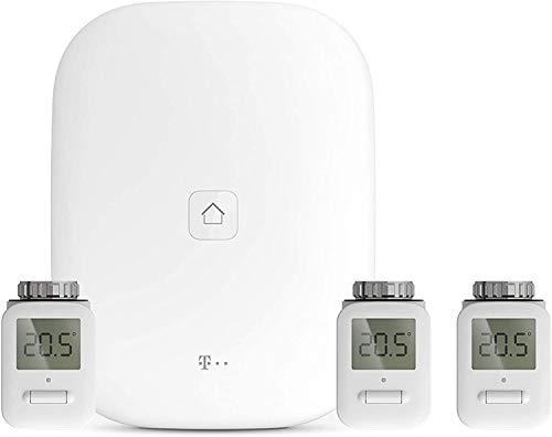 Telekom Magenta SmartHome Starter Set Heizung - Home Base 2 - Heizkörperthermostat