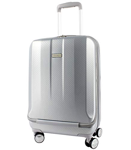 EXZACT Cabin Luggage Front Pocket Business Spinner 20 inch 37L 4 Wheels