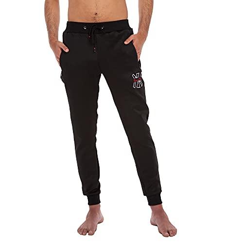 RAYPOW Pantalon Chandal Hombre · Jogger Hombre con Cintura y Tobillera Elásticas...
