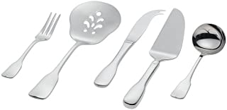Ginkgo International Alsace 5-Piece Stainless Steel Serving Place Setting, Service for 1